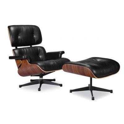 Classic Lounge Chair & Ottoman Tall Version
