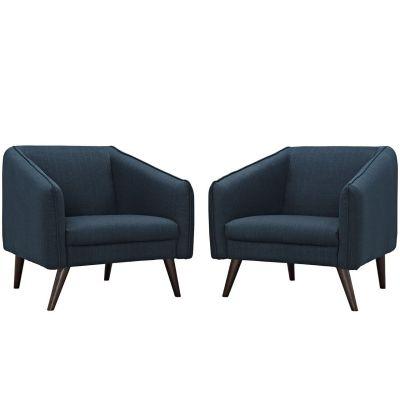 Slide Armchairs Set Of 2