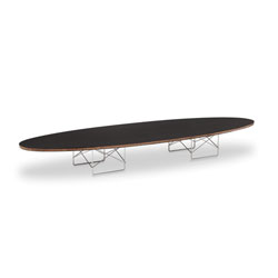 Get Dramatic Accent through the Eames Elliptical Coffee Table