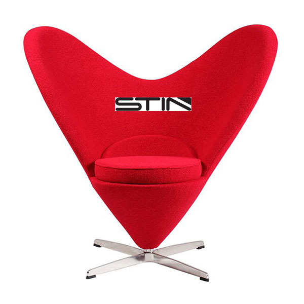 It's Time to Buy Iconic Design Heart Chair